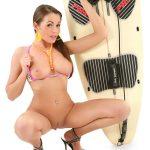 Surfs Up busty erotic wallpaper | Zara