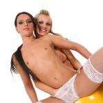 Duo sexy erotic dc girls hentai wallpaper   Bella and Promesita